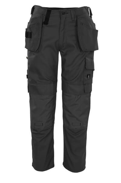 08131-010-01 Pantaloni con tasche porta-ginocchiere e tasche esterne - blu navy