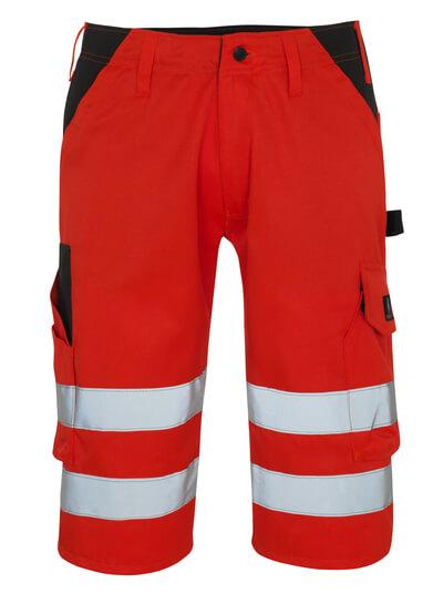 09049-860-A49 ¾ Lunghezza Pantaloni - rosso hi-vis/antracite scuro