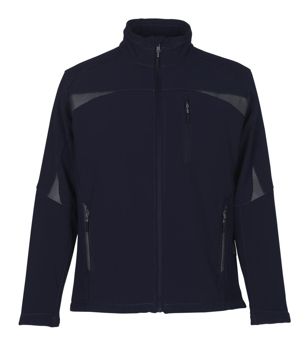 10002-883-01 Giacca Softshell - blu navy