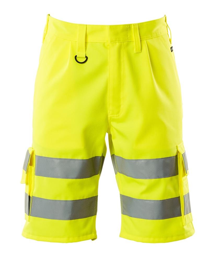 10049-470-17 Pantalone corto - giallo hi-vis