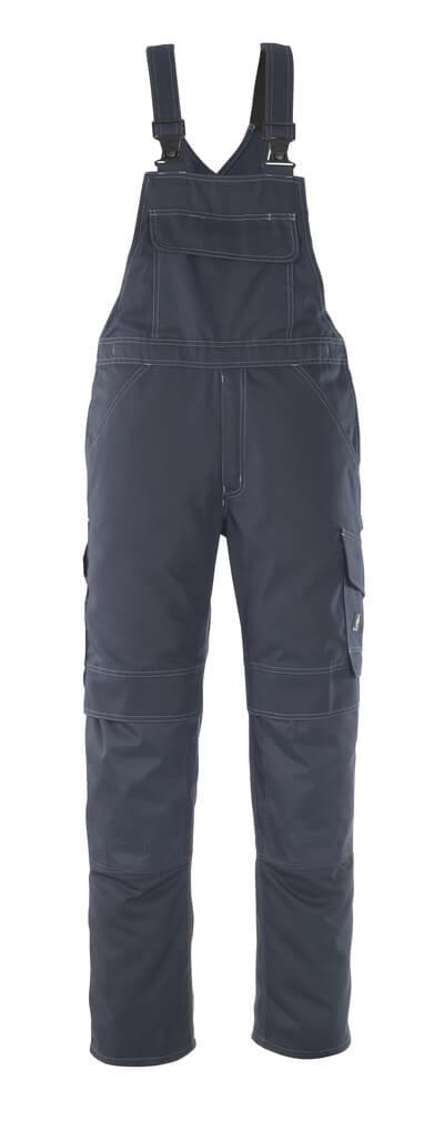 10169-154-010 Salopette con tasche porta-ginocchiere - blu navy scuro