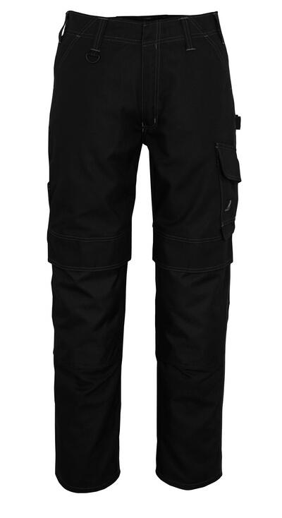10179-154-010 Pantaloni con tasche porta-ginocchiere - blu navy scuro