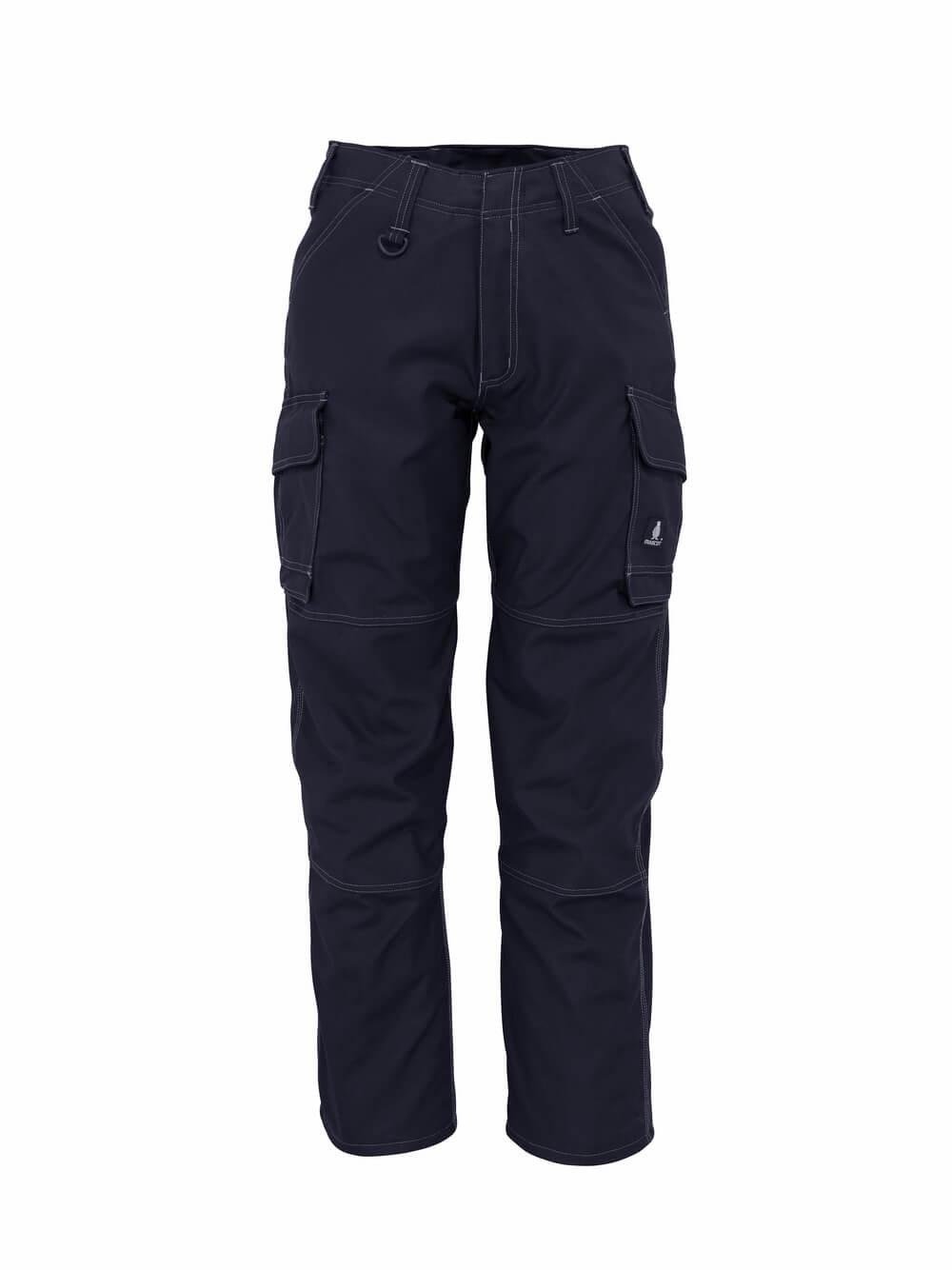 10279-154-010 Pantaloni con tasche sulle cosce - blu navy scuro