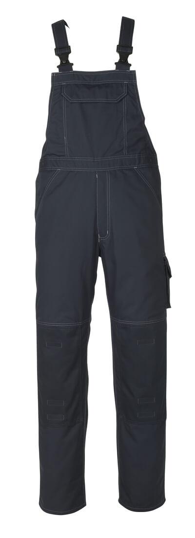 10569-442-010 Salopette con tasche porta-ginocchiere - blu navy scuro