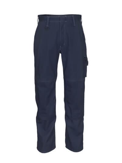 10579-442-010 Pantaloni con tasche porta-ginocchiere - blu navy scuro