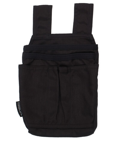 11011-012-09 Tasche esterne - nero