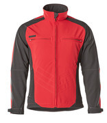 12002-149-0209 Giacca Softshell - rosso/nero