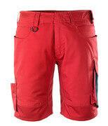 12049-442-0209 Pantalone corto - rosso/nero