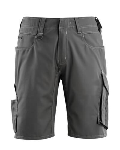 12049-442-1809 Pantalone corto - antracite scuro/nero