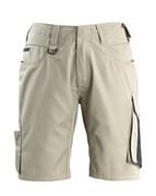 12049-442-5509 Pantalone corto - kaki chiaro/nero
