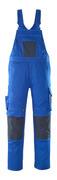 12069-203-11010 Salopette con tasche porta-ginocchiere - blu royal/blu navy scuro