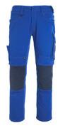 12179-203-0918 Pantaloni con tasche porta-ginocchiere - nero/antracite scuro