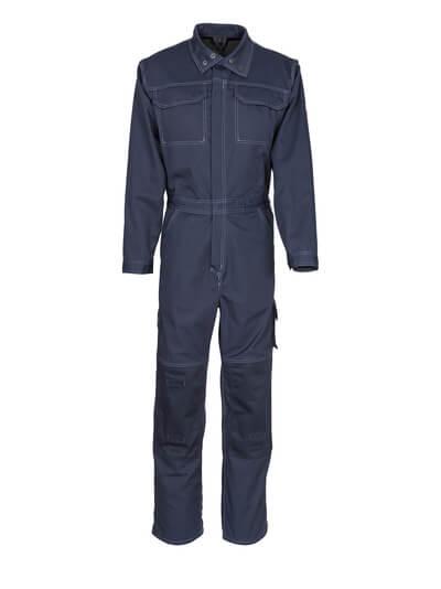 12311-630-010 Tuta da lavoro con tasche porta-ginocchiere - blu navy scuro