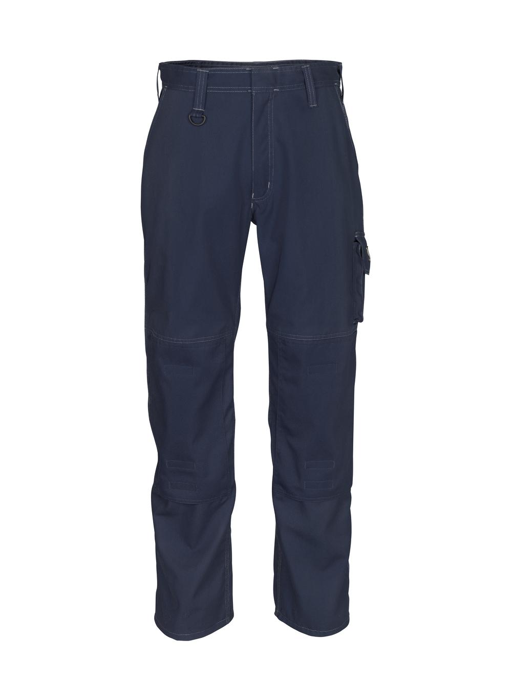 12355-630-010 Pantaloni con tasche porta-ginocchiere - blu navy scuro