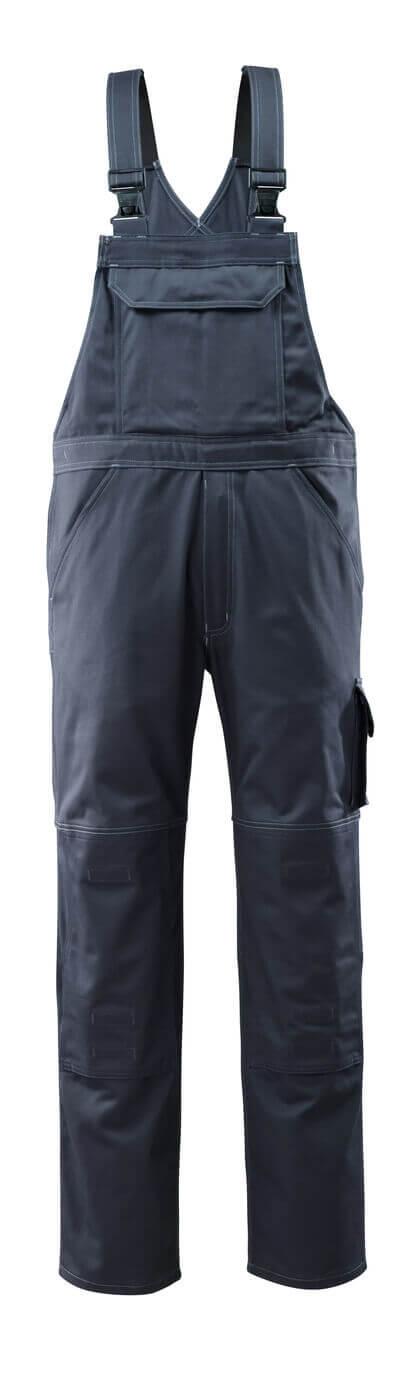 12362-630-010 Salopette con tasche porta-ginocchiere - blu navy scuro