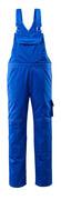 12362-630-11 Salopette con tasche porta-ginocchiere - blu royal