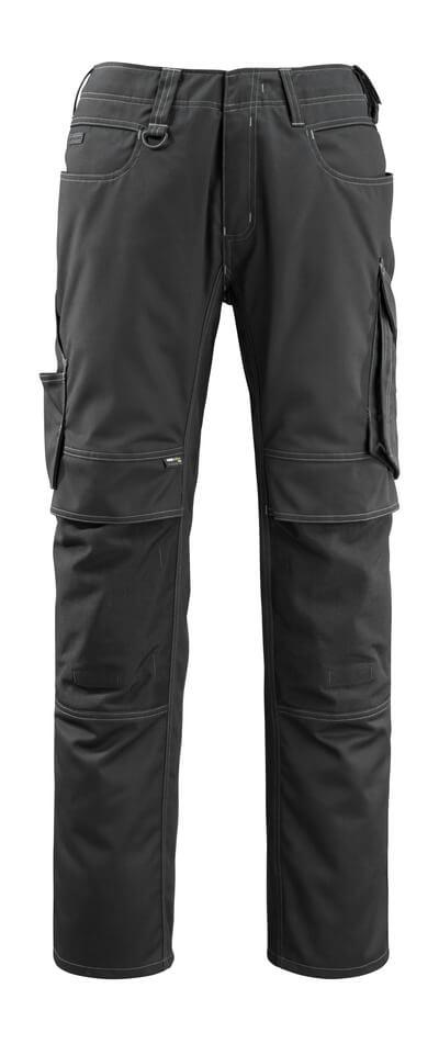 12479-203-010 Pantaloni con tasche porta-ginocchiere - blu navy scuro