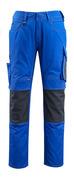 12679-442-11010 Pantaloni con tasche porta-ginocchiere - blu royal/blu navy scuro