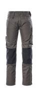 12679-442-1809 Pantaloni con tasche porta-ginocchiere - antracite scuro/nero