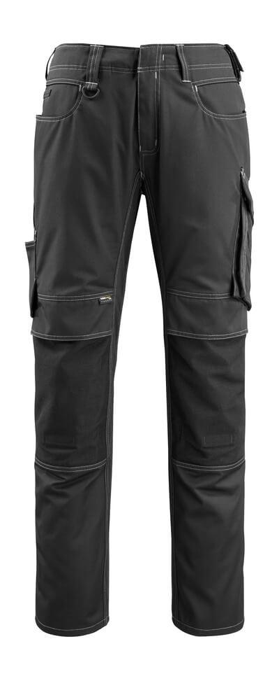 12779-442-010 Pantaloni con tasche porta-ginocchiere - blu navy scuro