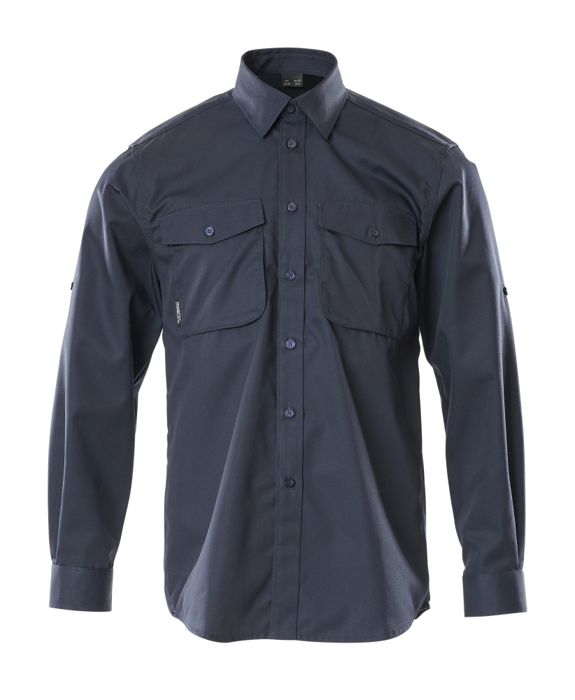 13004-230-010 Camicia - blu navy scuro