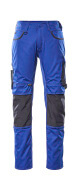 13079-230-11010 Pantaloni con tasche porta-ginocchiere - blu royal/blu navy scuro