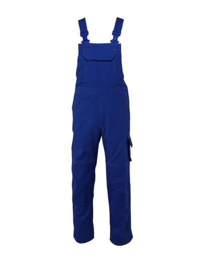 13169-430-11 Salopette con tasche porta-ginocchiere - blu royal
