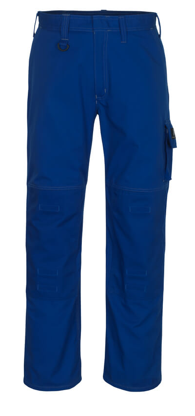 13179-430-11 Pantaloni con tasche porta-ginocchiere - blu royal
