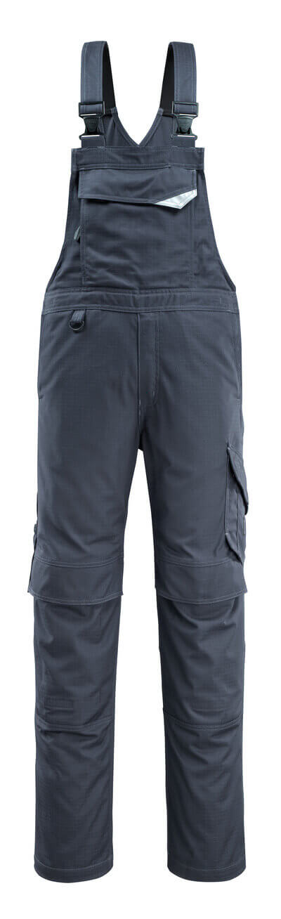 13669-216-010 Salopette con tasche porta-ginocchiere - blu navy scuro