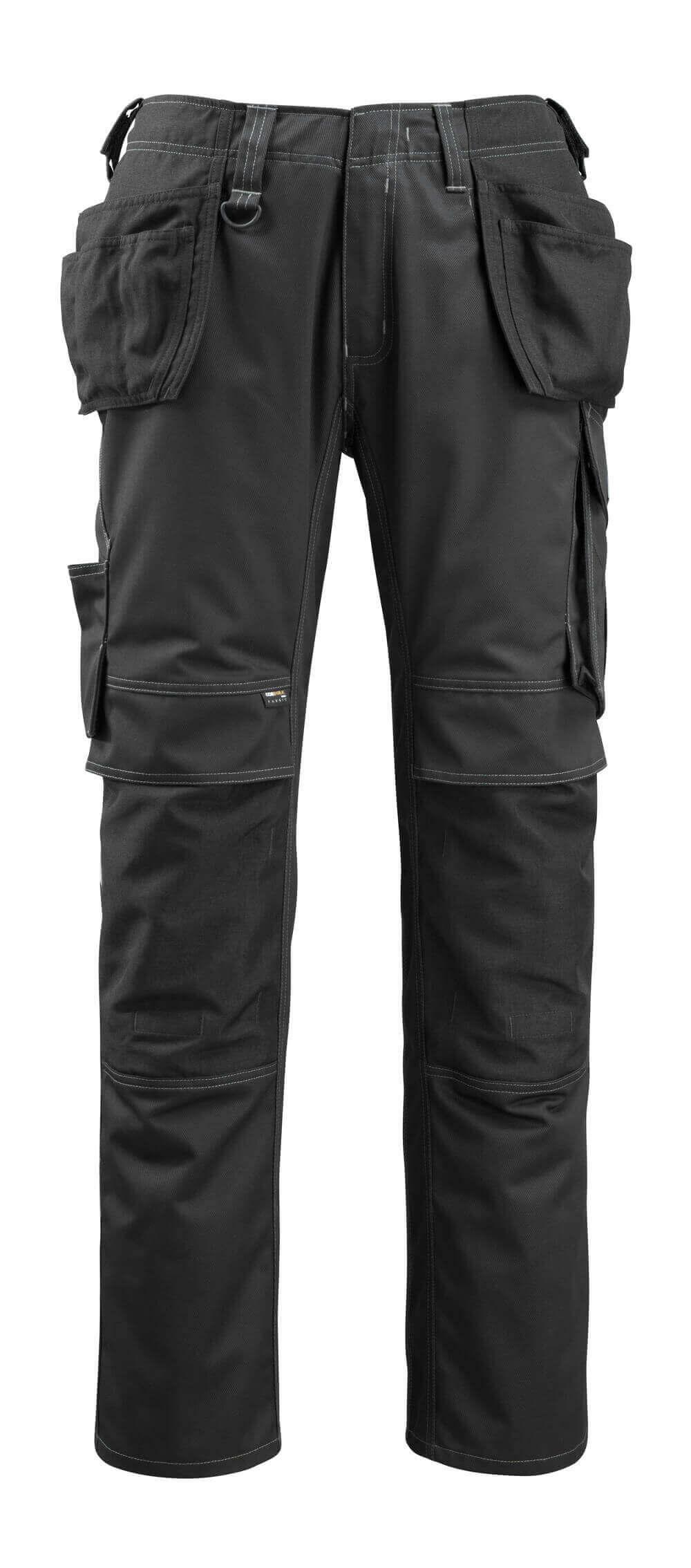 14131-203-09 Pantaloni con tasche esterne - nero