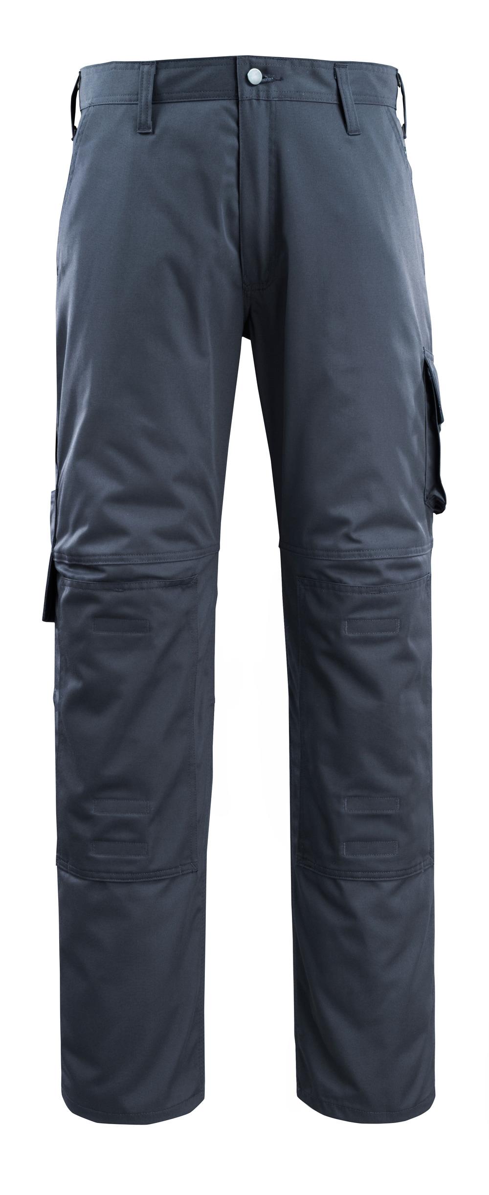 14379-850-010 Pantaloni con tasche porta-ginocchiere - blu navy scuro