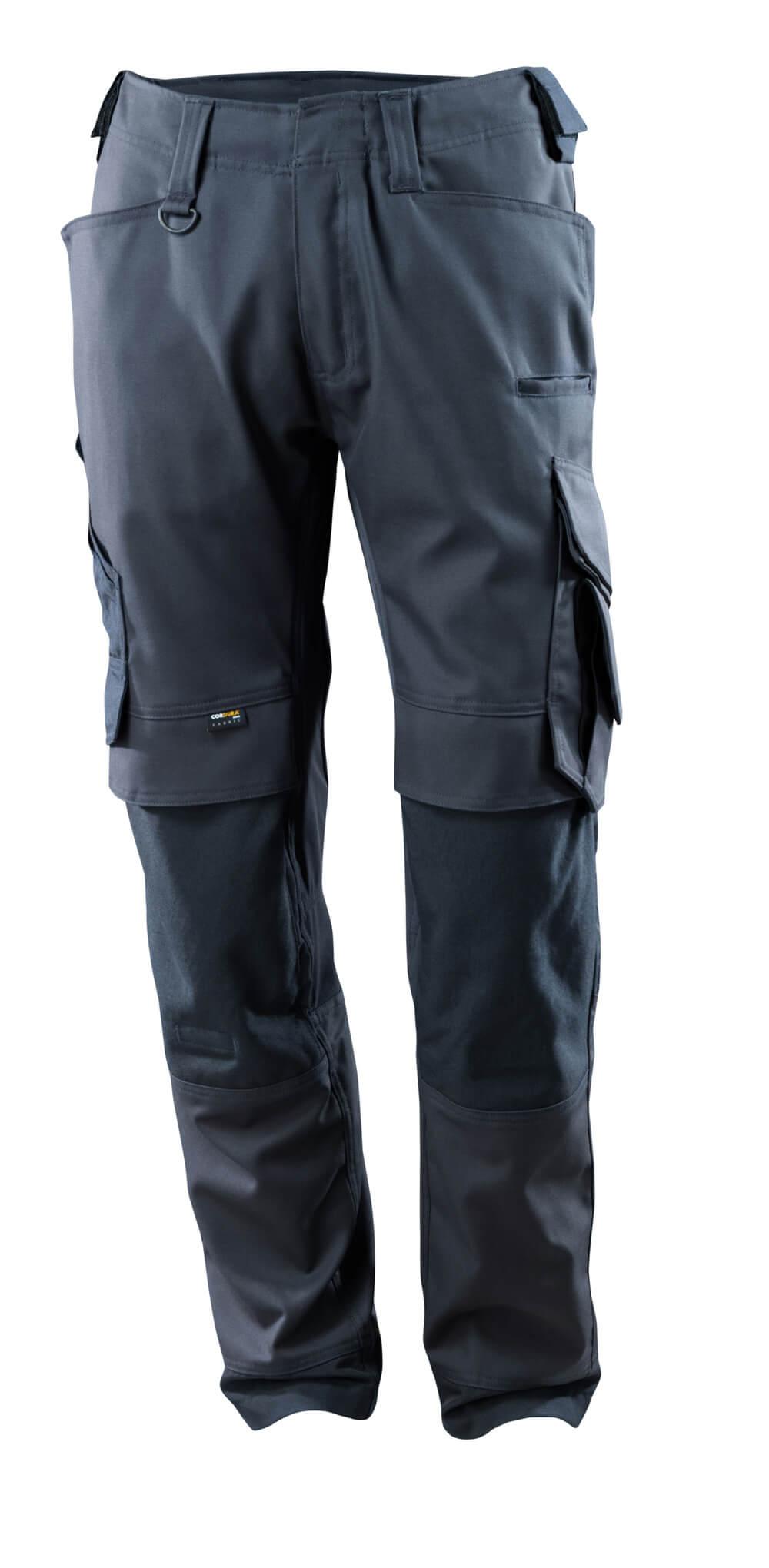 15079-010-010 Pantaloni con tasche porta-ginocchiere - blu navy scuro