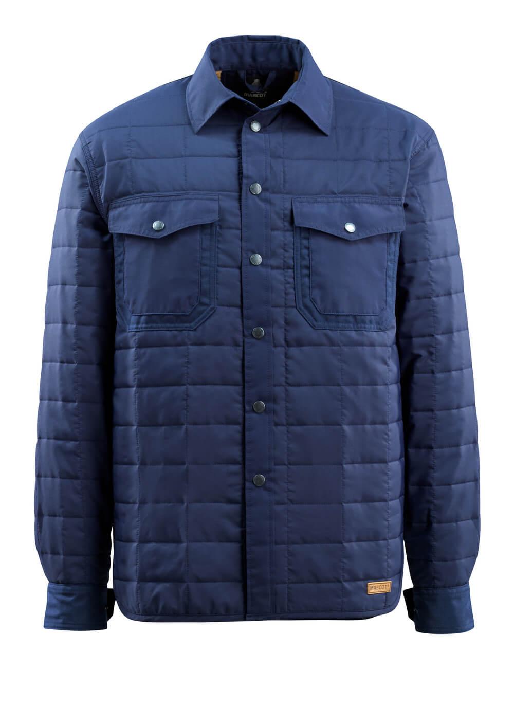 15304-097-01 Camicia con fodera - blu navy