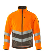 15503-259-1418 Giacca in Pile - arancio hi-vis/antracite scuro