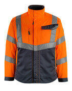 15509-860-14010 Giacca - arancio hi-vis/blu navy scuro