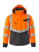 15535-231-14010 Giacca antifreddo - arancio hi-vis/blu navy scuro