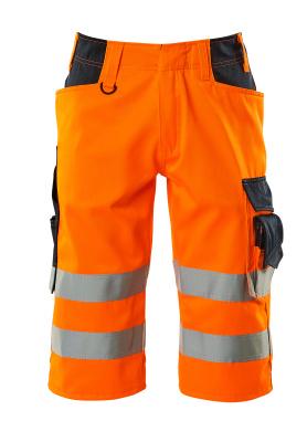 15549-860-14010 ¾ Lunghezza Pantaloni - arancio hi-vis/blu navy scuro