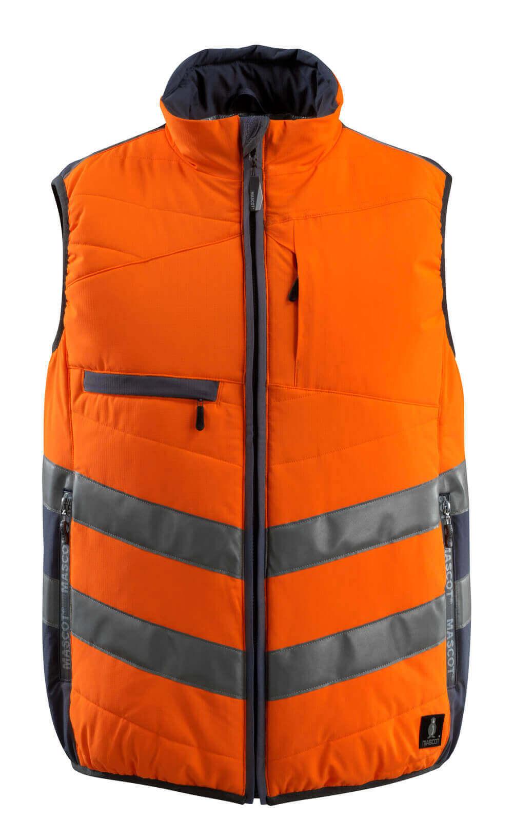 15565-249-14010 Gilet antifreddo - arancio hi-vis/blu navy scuro