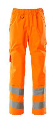 15590-231-14 Sovrapantalone con tasche porta-ginocchiere - arancio hi-vis