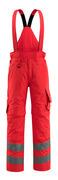 15690-231-222 Pantaloni antifreddo - rosso hi-vis