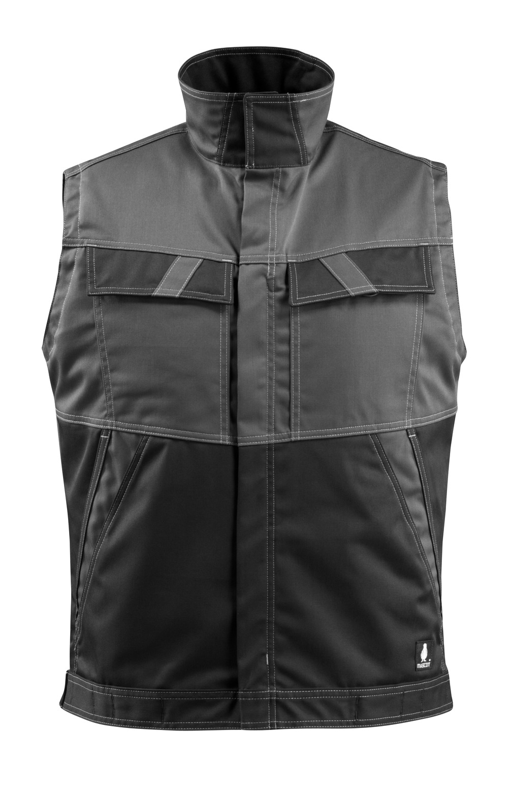 15754-330-1809 Gilet - antracite scuro/nero