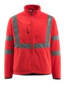 15903-270-222 Giacca in Pile - rosso hi-vis