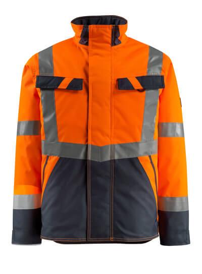 15935-126-14010 Giacca antifreddo - arancio hi-vis/blu navy scuro