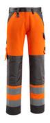 15979-948-1418 Pantaloni con tasche porta-ginocchiere - arancio hi-vis/antracite scuro