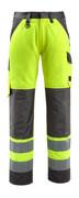 15979-948-1718 Pantaloni con tasche porta-ginocchiere - giallo hi-vis/antracite scuro