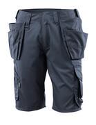 16049-230-010 Pantalone corto con tasche esterne - blu navy scuro