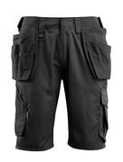 16049-230-09 Pantalone corto con tasche esterne - nero
