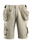 16049-230-06 Pantalone corto con tasche esterne - bianco
