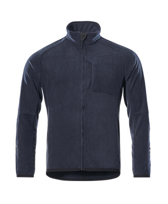 16103-302-010 Giacca in Pile - blu navy scuro