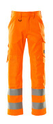 16879-860-14 Pantaloni con tasche porta-ginocchiere - arancio hi-vis